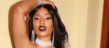 Nicki Minaj aparece sin sostén y calienta Instagram