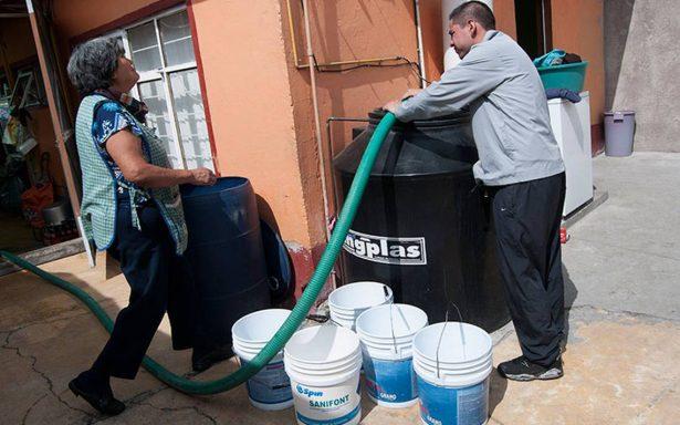 Este sábado quedará restablecido el servicio de agua en CDMX