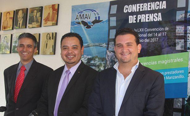 Celebrará AMAV Nacional su LXII Convención Nacional en Colima