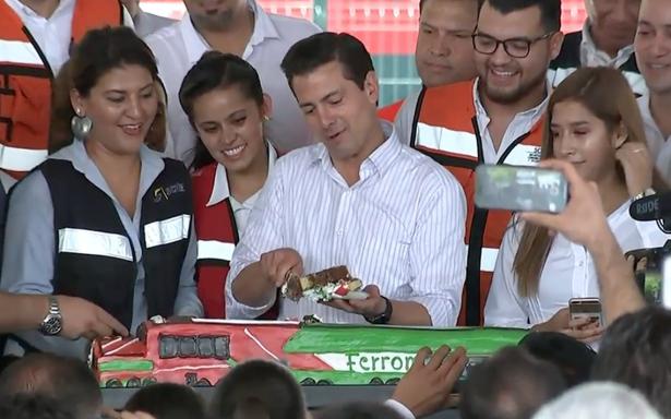 [Videos] Así festejó Peña Nieto sus cumpleaños durante el sexenio