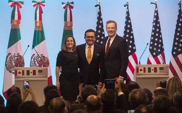 Canadá se reintegrará pronto a reuniones del TLCAN: Ildefonso Guajardo