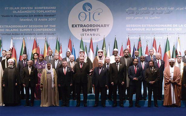 Mundo musulmán defiende a Jerusalén Este como capital de un Estado palestino