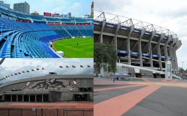 Estadios Azteca, Azul y de Ciudad Universitaria sin daños tras sismos