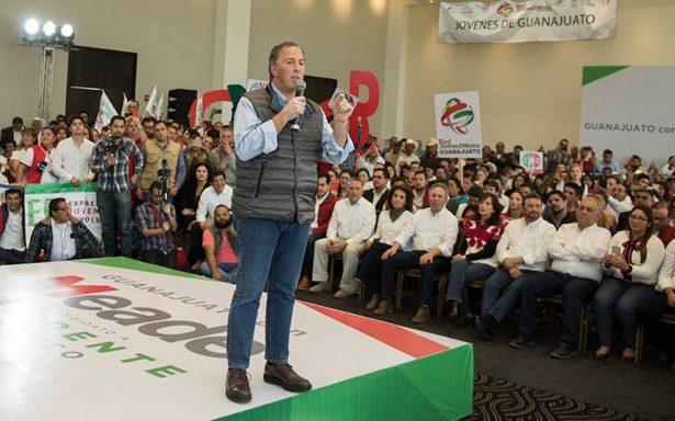Meade condena asesinato del precandidato priista Francisco Rojas