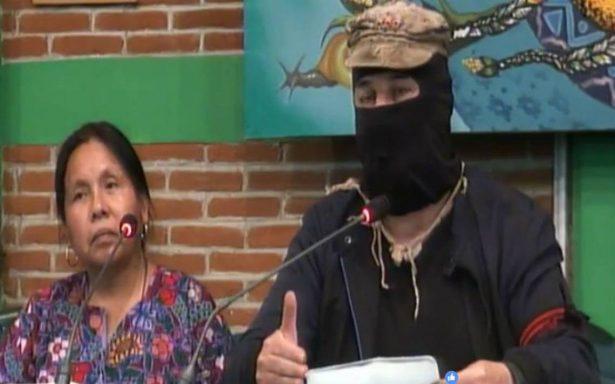 INE y TEPJF son agencias de colocación: Subcomandante Marcos