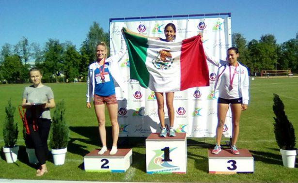 Tres de oro en Atletismo en los Juegos Mundiales de los Trabajadores