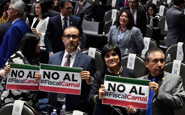 PAN mantendrá resistencia para frenar pase automático de fiscal