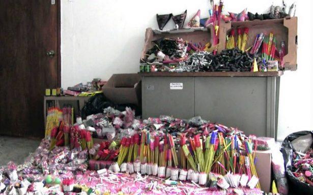 Explota almacén de pirotecnia en Chimalhuacán
