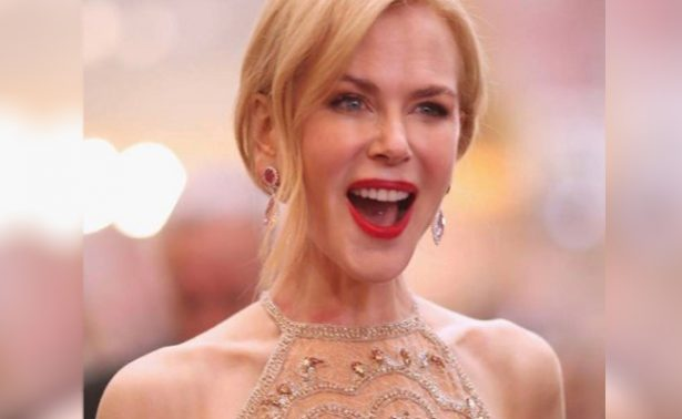 Nicole Kidman celebra sus 50's con el esplendor de antaño