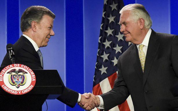 Colombia clave en restauración de democracia en Venezuela: Tillerson