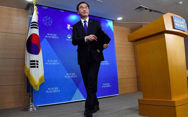 Corea del Sur, dispuesto a dialogar con Corea del Norte antes de Juegos Olímpicos