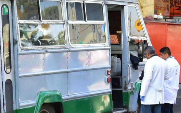 Asesinan a mujer al resistirse a asalto en transporte público de Iztapalapa