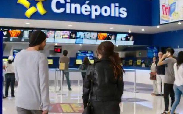 Cierran salas de cine a consecuencia del sismo