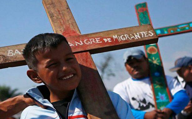 """Llega a Matías Romero caravana """"Víacrucis Migrante 2018"""": no le tememos a Trump"""