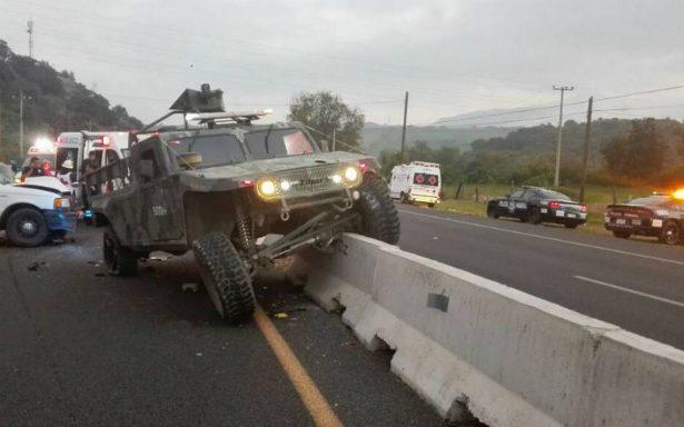 Accidentes viales dejan un militar muerto en Jalisco