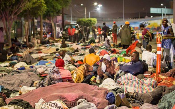Esperan llegada de mil 700 migrantes a Tijuana