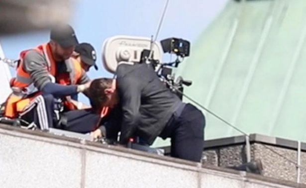 [Video] Tom Cruise se golpea fuertemente durante rodaje de Misión Imposible