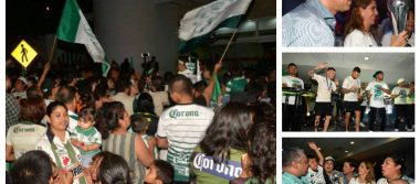 Así festejaron jugadores, directiva y afición de Santos