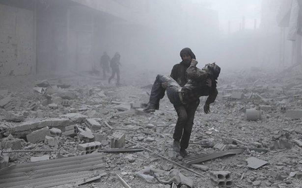 Durante 2017 murieron más de 10 mil civiles en Siria