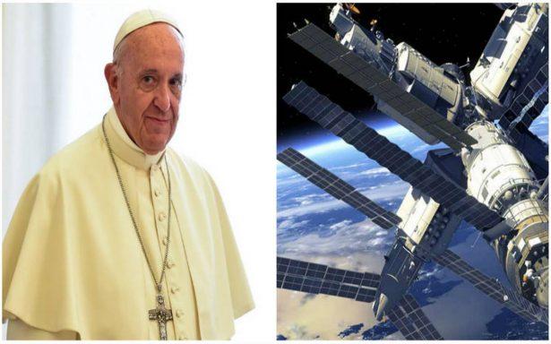 Papa hablará en directo con la Estación Espacial Internacional