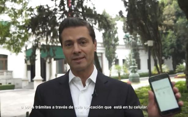 Peña Nieto necesita tu opinión sobre el funcionamiento de la app del IMSS