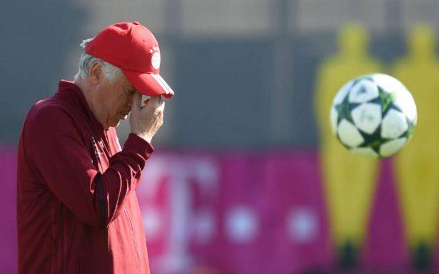 Bayern cesa a Ancelotti por la derrota del club alemán en Francia