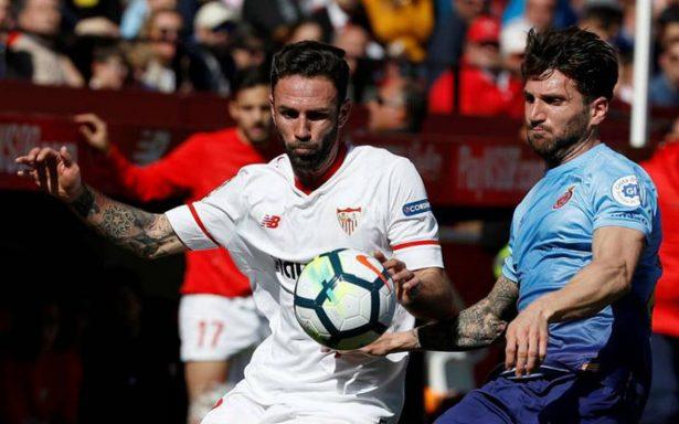 Layún tiene minutos en la victoria del Sevilla sobre el Girona