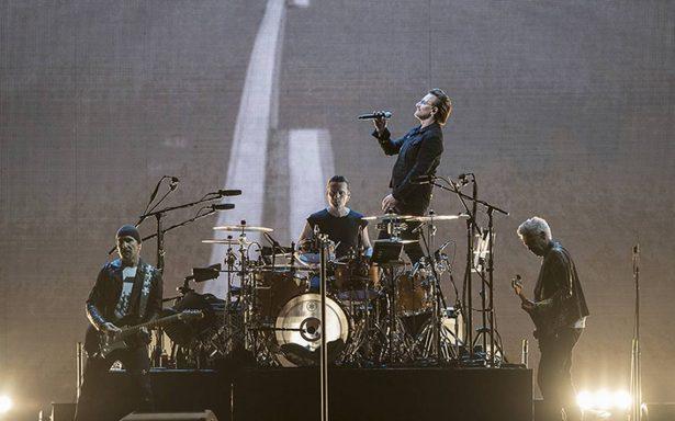 U2 sorprende a fans al grabar videoclip en azotea de CDMX