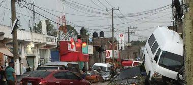 Lluvias dejan dos muertos y un lesionado en Chimalhuacán