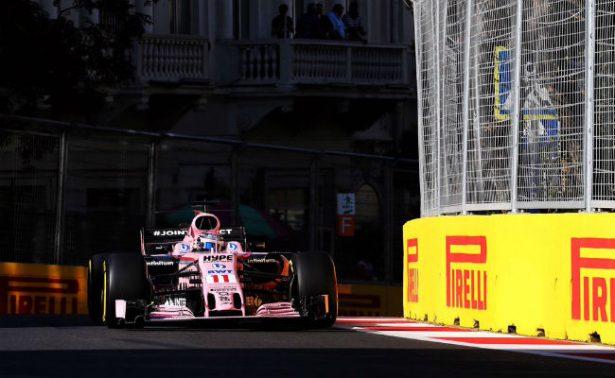 Checo Pérez choca de nuevo y se retira del GP de Azerbaiyán