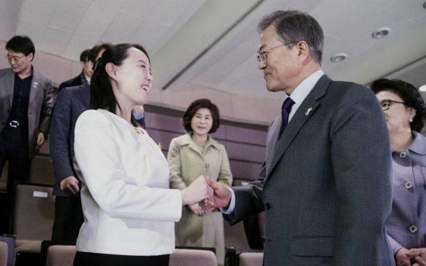 Hermana de Kim Jong-un concluye gira por Corea del Sur