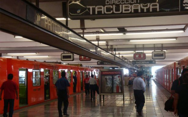 Metro reporta gran afluencia en Línea A por volcadura en Zaragoza
