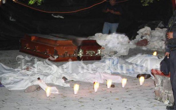 Bautizo se convierte en tragedia, iglesia colapsa tras sismo en Puebla