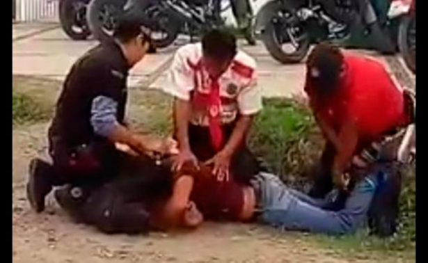 [Video] Guardias agreden a alumno en Cuautla