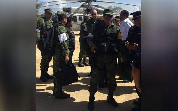 Sedena asume responsabilidad del desplome de helicóptero en Oaxaca