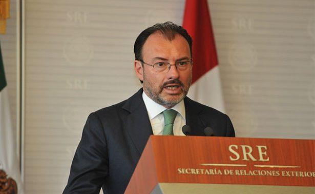 Videgaray responde a ataques que Maduro lanzó contra Peña Nieto