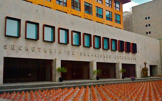 Cancillería suspende trámites jurídicos hasta el 28 de septiembre