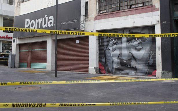 Afectados por sismo 16.1% de los negocios en la capital