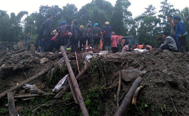 Deslizamiento de tierra en China deja 24 muertos