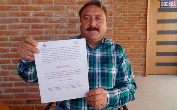 Reportan desaparición de candidato independiente a edil en Puebla