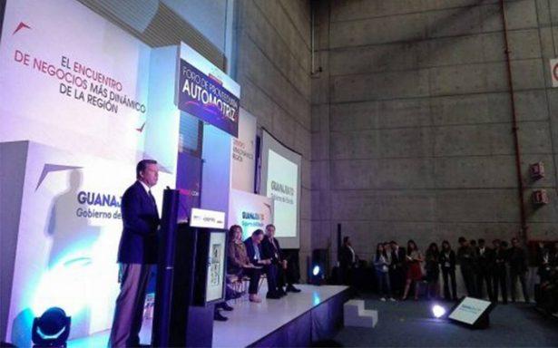 Guanajuato busca liderazgo automotriz a nivel Latinoamérica para 2020