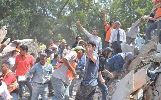 Cifras tras la catástrofe del terremoto de 7.1 grados en México
