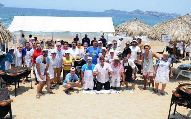 Se llevó a cabo la  22 edición del Festival de las Paellas en Acapulco