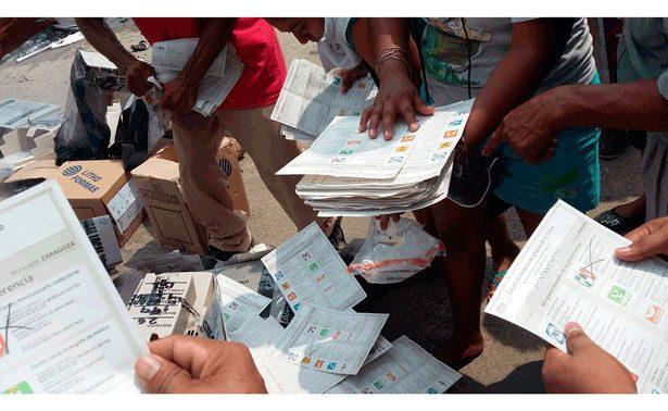 OPLE atraerá cómputo en Veracruz ante quema de boletas