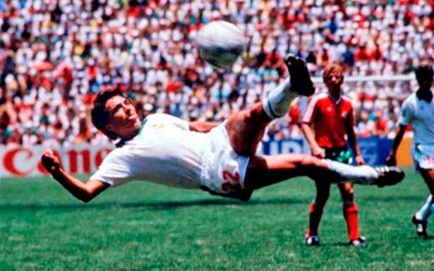Gol de Manuel Negrete, el más bello de la historia de los Mundiales