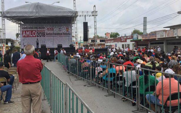 Gira de AMLO por Tamaulipas entre 'jaloneos' por candidaturas de Morena