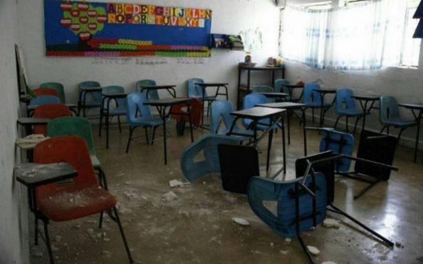 SEP concluye censo de escuelas afectadas por sismo; son 2,646 en Oaxaca y Chiapas