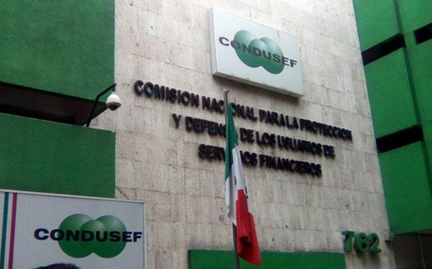 Catorce millones de usuarios afectados por bancos: CONDUSEF