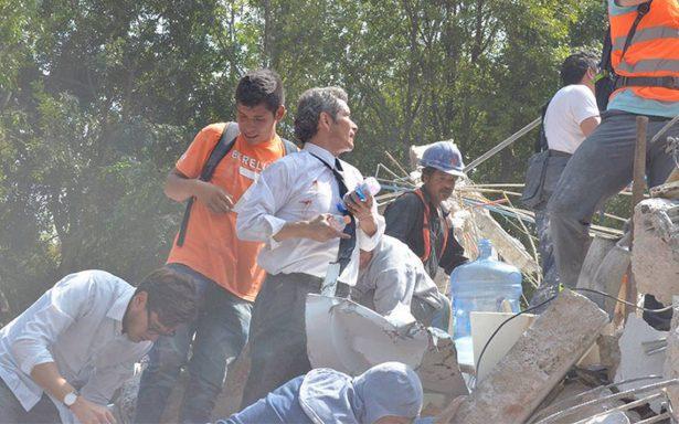 Rescates tras terremoto recuerda unión de mexicanos como en 1985