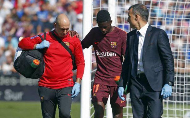 Operan con éxito a Dembelé; estará fuera de las canchas hasta 2018